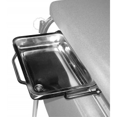 Urology stainless steel pan with drain