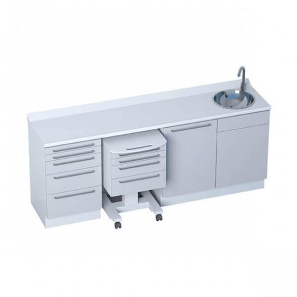 Mobilier Cabinet Médical - Module HANDFREE