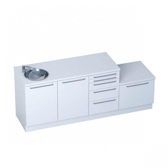 Medizinische Büromöbel - Module SMART + Sterilisierungsmodul erhältlich