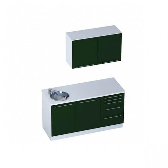 Medical Mobili Per Ufficio - Module SMART + mobili alti e 2 sportelli