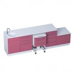 Medical Office Furniture - Module SELECT + sterilisation module