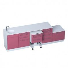 Medizinische Büromöbel - Module SELECT + Sterilisierungsmodul erhältlich