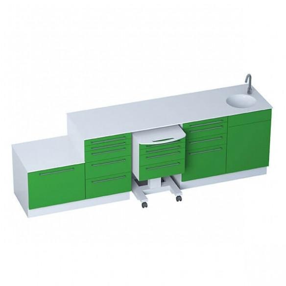 Mobilier Cabinet Médical - Module SELECT + module de stérilisation