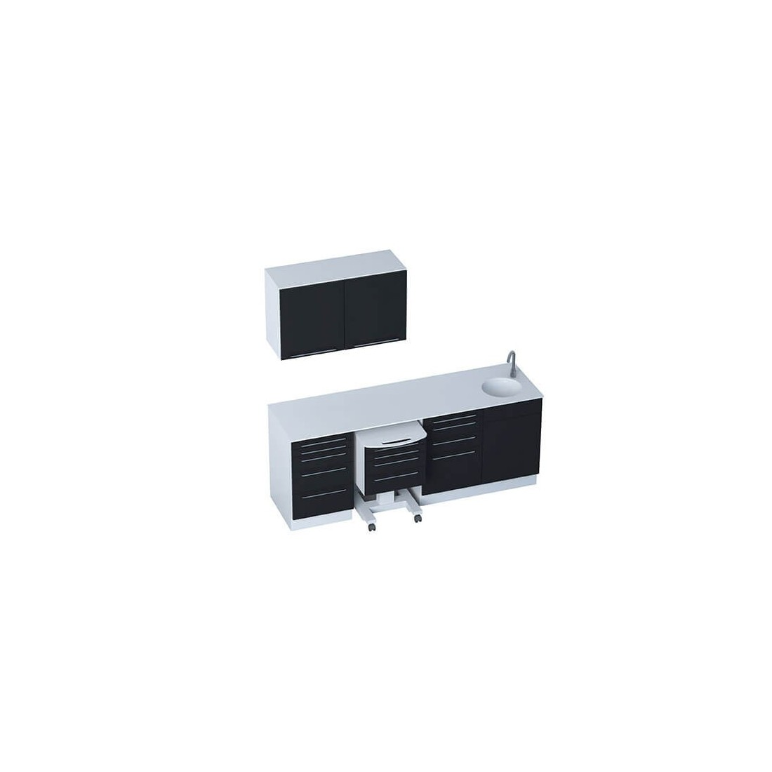 office furniture wall units. Medical Office Furniture - Module SELECT + 2-door Wall Units