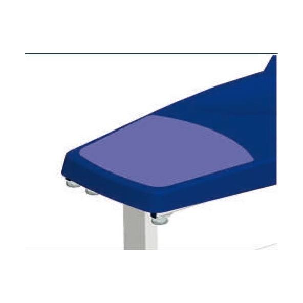 Salón de tapicería de pie con protección de cristales