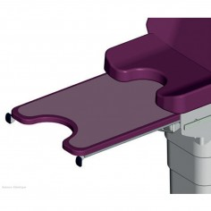 Glass extension leg rest...