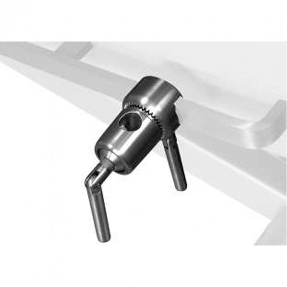 ROTATING CLAMP FOR RAIL