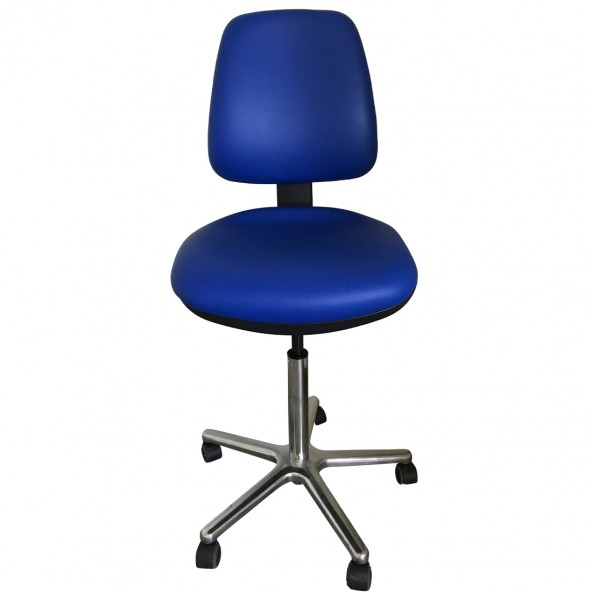 Laboratory chair with backrest