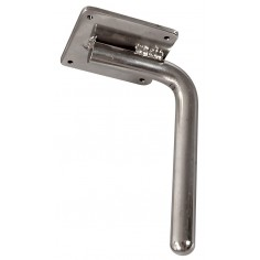 Medical exam lamp support for clamp