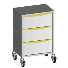 Anaesthesia trolleys 3 drawers of 240