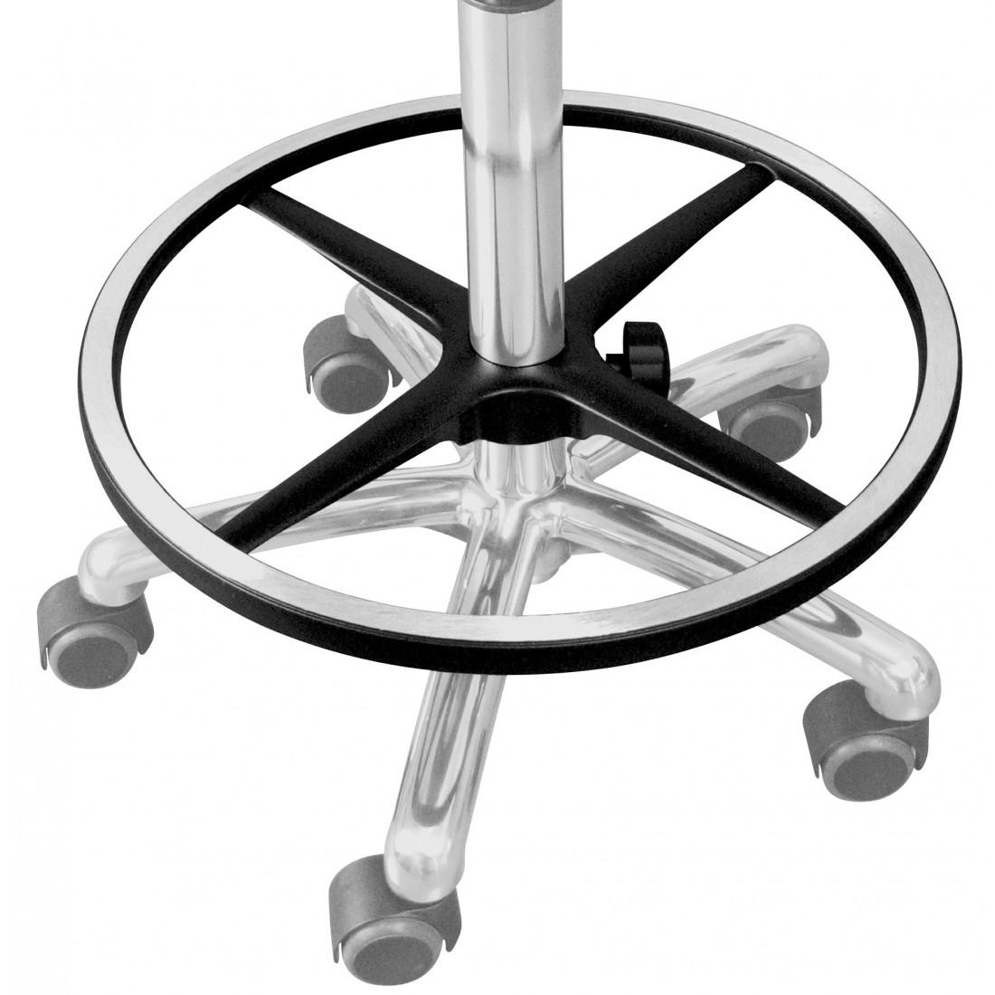 Circular footrest