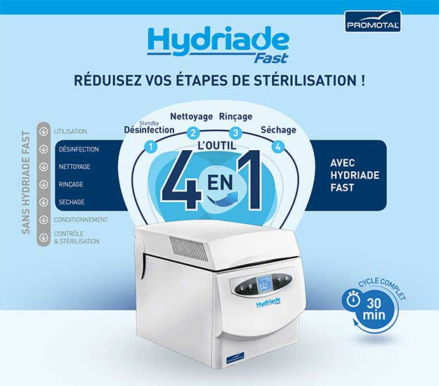 Cycle auclave hydriade FR