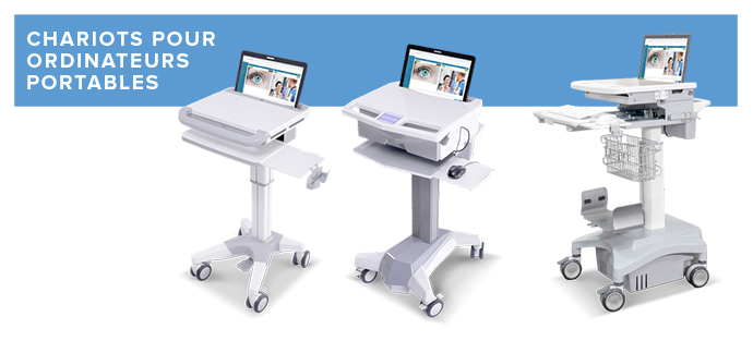 Chariot informatique médical