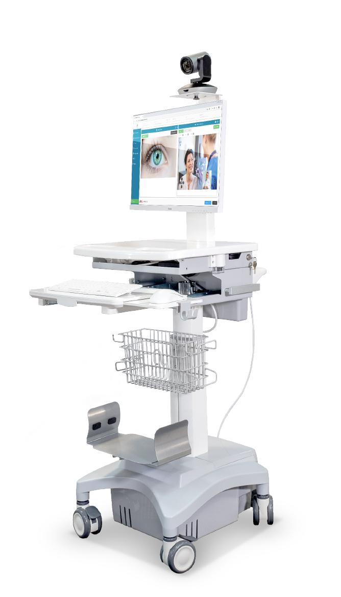 Chariots Médicaux de Télémédecine pour Ordinateur Portable