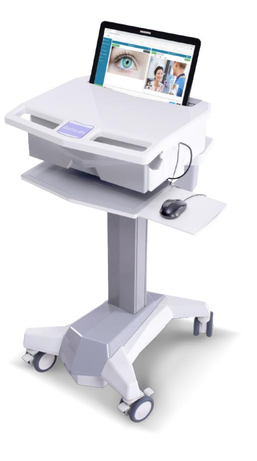 Chariots Médicaux de Télémédecine pour Ordinateurs Portables